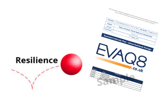 School Resilience Package: British Standard and ISO compliant custom-made emergency plans for Schools, Business Continuity, Crisis Management | School Emergency Kits to NACTSO guidelines (UK National Counterterrorism Security Office) and safety supplies from EVAQ8.co.uk the UK's emergency preparedness specialist